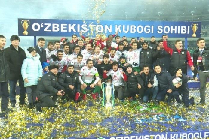 Locomotive wins Uzbekistan`s Football Cup