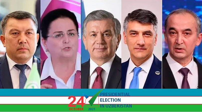 Uzbekistan Presidential candidates hold meetings in Andijan, Syrdarya, Namangan and Fergana regions
