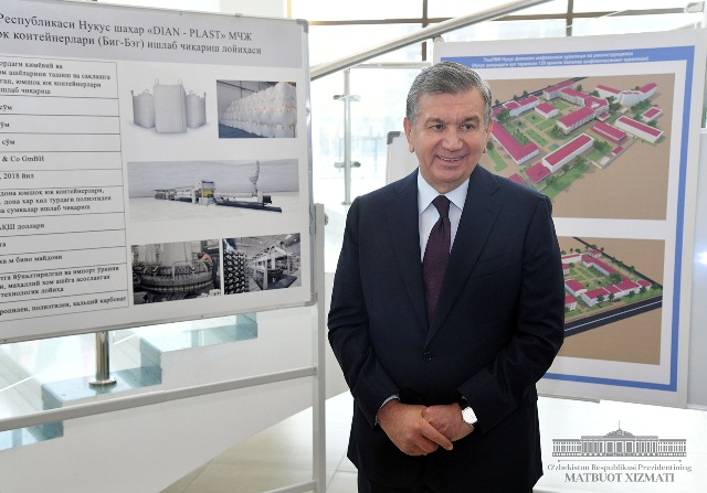 President discussed Nukus's General Plan of Urban Development