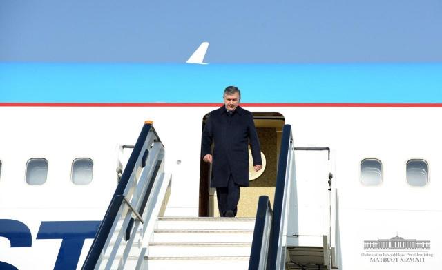 Shavkat Mirziyoyev arrived in Surkhandarya