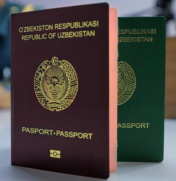 Оформление биометрического паспорта для выезда за границу (красного цвета).