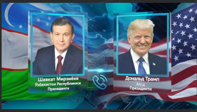On telephone conversation of Presidents of Uzbekistan and the USA