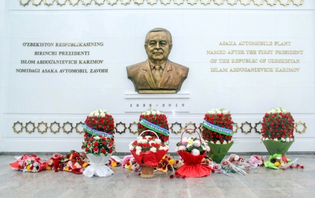 The memorial complex named after Islam Karimov has been opened in Asaka