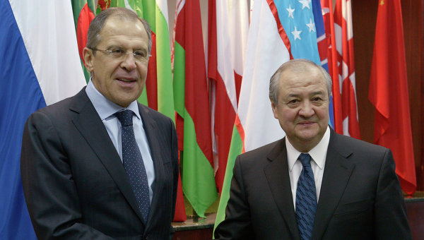 Meeting with Minister of foreign Affairs of Russia