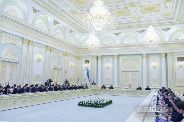 Meeting on foreign policy issues