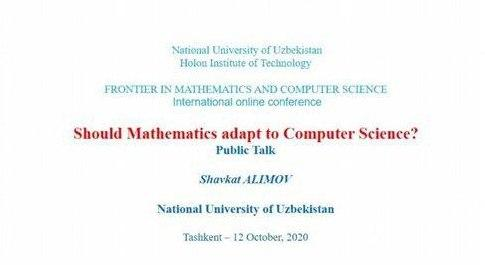 Frontier in mathematics and computer science