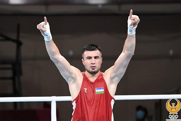 Bakhodir Jalolov scores unanimous super heavy gold