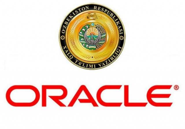 Online webinar with Oracle
