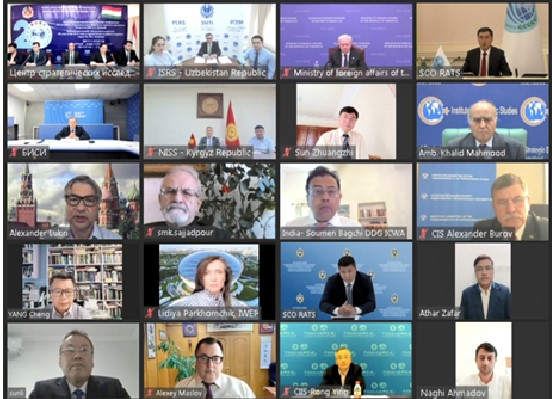 ISRS experts take part in the International Conference timed to the 20th anniversary of the SCO