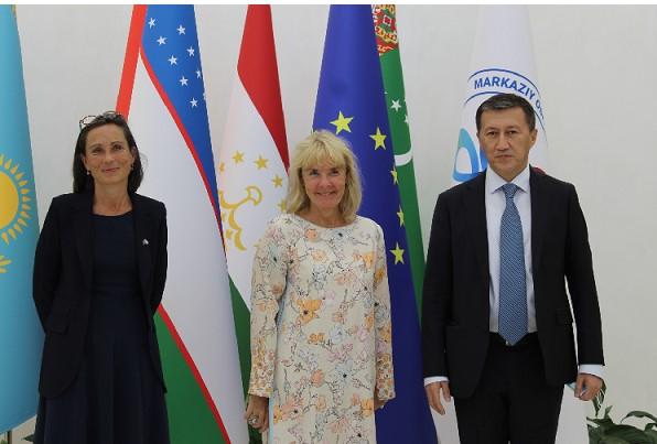 IICA hosts a meeting with EU Special Representative for Central Asia