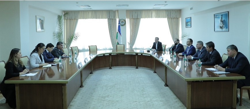 ISRS hosted a meeting with a German delegation