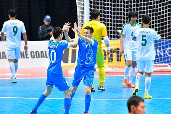 Uzbekistan national futsal team beat Kosovo and Mozambique