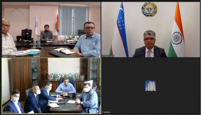 Uzbekistan, India representatives discuss the creation of an Indian University's branch in Bukhara