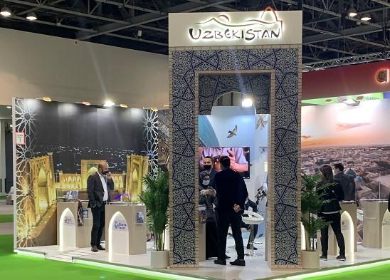 Uzbekistan presented at the ATM 2021 Tourism Fair